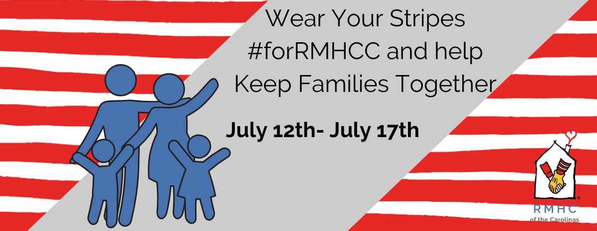 Wear Your Stripes #forRMHCC 2020